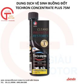 DUNG DỊCH VỆ SINH BUỒNG ĐỐT TECHRON CONCENTRATE PLUS 75ML - CALTEX CACBON CLEANER ,UY TÍN