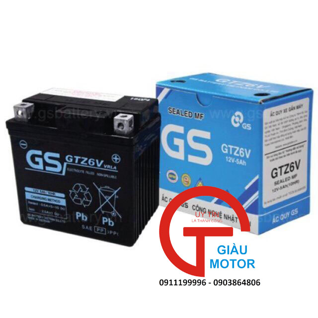 Ắc quy xe lead 125 gs